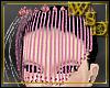 Empress Pink Bead Veil