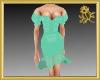 Mint Frill Dress