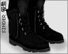 害羞. Boots Black