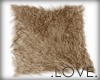 .LOVE. Dyed Fur Rug Gold