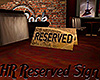 [M] HR Reserved Sign