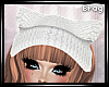 {Brag} Cat Hat | White
