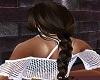 brown braid hair