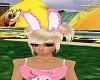 Girls Bunny Ears w/ Bow