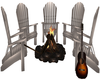 Pond Fire Pit Chat