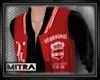 !M! Varsity Jacket Red B