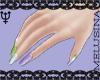 ♆ Enby Nails