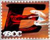 [BCC]E Letter- Red Black