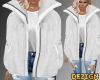 D. Fluffy Jacket White