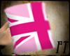 !FT Pink Union Jack Mug