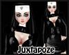 Sexy Pvc Nun Costume