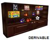 (S) Toy Shelf Unit V2