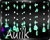 A| Mint Crystal Beads