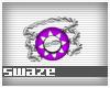 Takeo Purp Bracelet