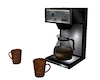 Coffee Maker and Mugs V1
