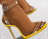 ṩEsha Heels Yellow