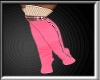 Pink Brown Sweater Boot