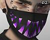 rz. Purple Smile Mask