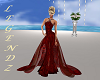 Jewl Red Fishtail Weddin