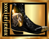 [L] WOLF GOLD Boots M