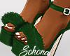 ṩFur Heels Green