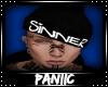 ♛ Sinner Beanie |BLK