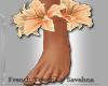 """SAV"" ADINA FLOWER FEET"