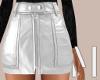 White Mini Skirt | L