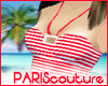 *Pc* Red Summer Top