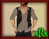 Shirt w/Vest Tan