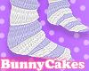 Purple|White Stripe Sock