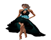 Teal Cocktail Gown