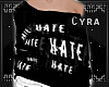 |Hate.Hate.Hate Sweater|