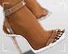 ṩEsha Heels White