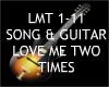 Love Me 2 Times + Guitar