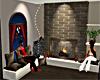Small Christmas room