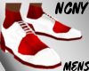 NCNY*RED/WH|DRESS SHOE|M