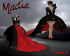 Vampire Red Carpet Gown