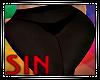 Black Sheer Pants