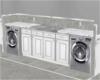 Modern  Washer nd Dryer