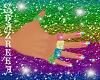 5 Sparkle Rainbow Rings