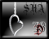 Silver Heart2 Anklet