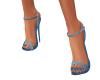 small jean heels