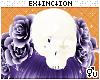 #mischief: skull head