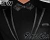 New Black Tux Suit BD