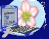 Blue Sakura Laptop