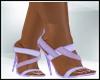 Bridesmaid Purple Heel