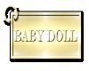 Baby Doll Keychain