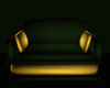 Green and Gold Armchair