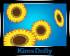 *KD* Floating Sunflowers